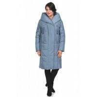 Пуховик женский 8535-17 (серо-голубой)