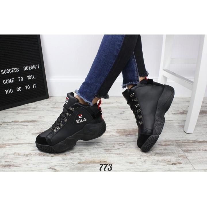 Женские зимние ботинки-кроссовки 773