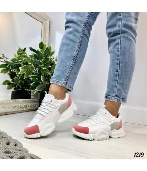 Женские кроссовки белые Comfort 1219