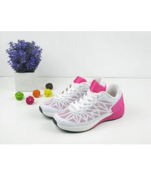 Женские стильные белые кроссовки 1023
