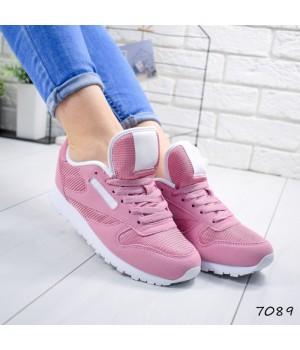 Женские кроссовки розовые R 7089