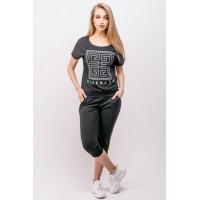 Спортивный костюм Амми (черный) #L/I