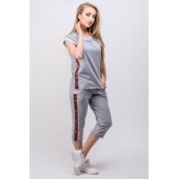 Спортивный костюм Лайза (серый) #L/I 1046716865