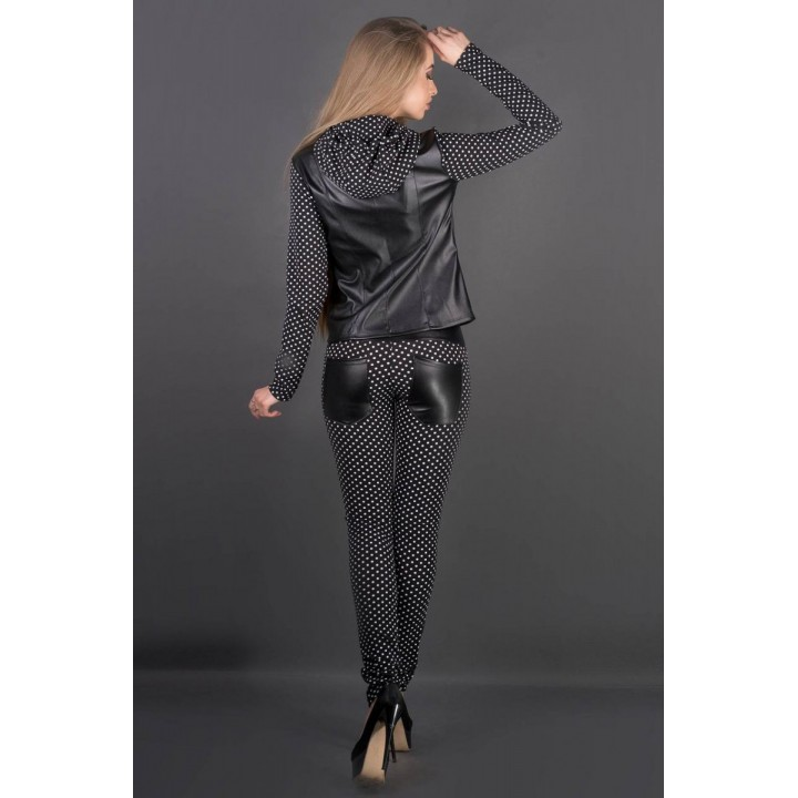 Спортивный костюм Мейлис (горошек) Оптовая цена #L/I