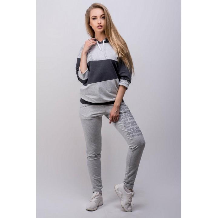 Спортивный костюм Вилари (серый) #L/I 1046716888
