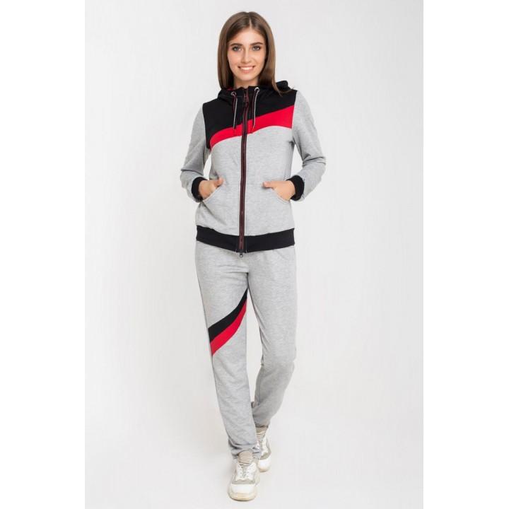 Спортивный костюм Лари (серый) #L/I 1046729446 1046729450