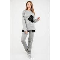 Спортивный костюм Синди (серый) #L/I 1046717201