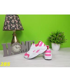 Женские кроссовки розовые 1205