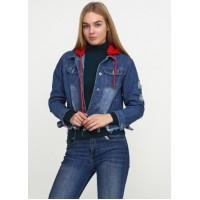 Джинсовая женская курточка AL-7657-35