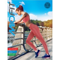 Лосины Для Йоги и Пилатеса MioFit Pilates С Высокой Посадкой S-M, M-L, L-XL