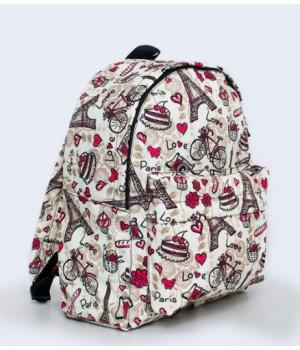 Рюкзак CITY яскравий з принтом V24019