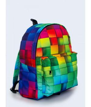 Рюкзак яскравий з принтом V24008