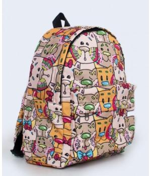 Рюкзак яскравий з принтом V24021